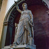 Statue (Liberty of Poetry) atop of Giovanni Battista Niccolini's tomb