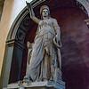 Statue (Liberty of Poetry) atop of Giovanni Battista Niccolini's tomb