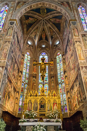 Basilica of the Holy Cross, Florence, Italy