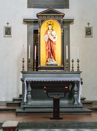 Chapel, right transcept