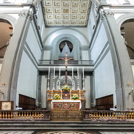 Looking down the Nave to the Crossing and Apse.