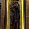 Left Transept, sculpture of Virgin & Child