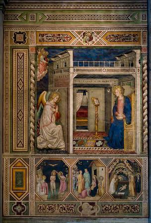 Pietro di Miniato's Annunciation