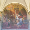 Innocent III (Gregory IX) has the vision of the (Lateran) Roman Catholic Church supported from San Domenico