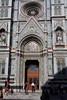 Left side door of the Duomo