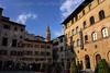 A view of the Campanile della Badia Fiorentina