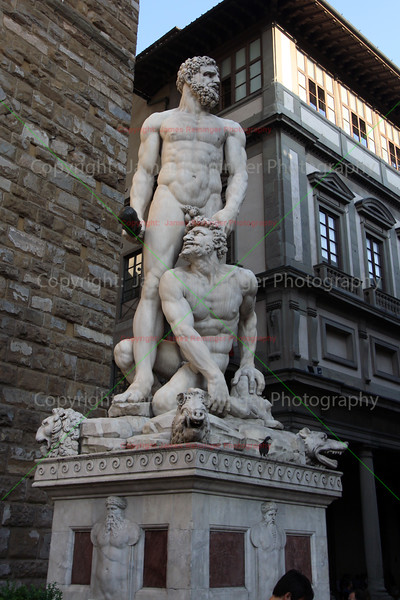 Hercules and Cacus by Bartolommeo Bandinelli's