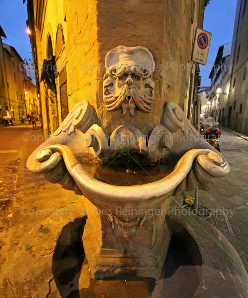 Fountain of Sprone / Fountain of the yoke