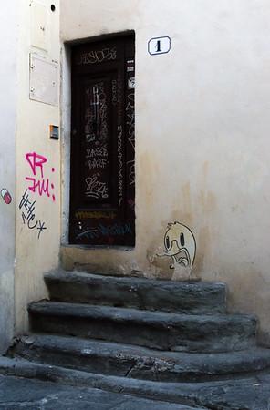 Duck graffiti