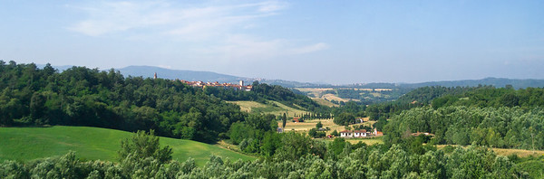 Italian Countryside & High-Speed Train