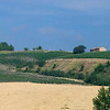 Italian Countryside from the High-Speed Train