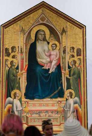 Maestà (The Ognissanti Madonna)