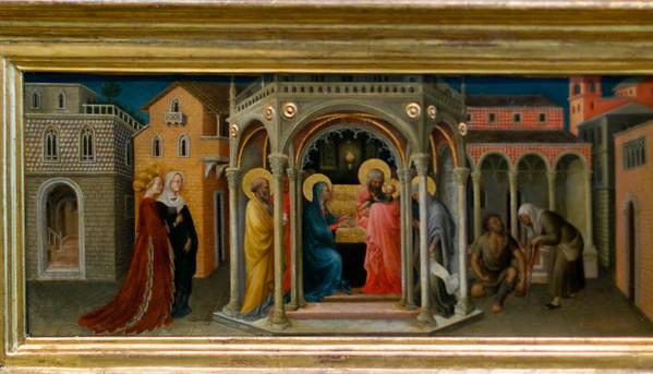 Adoration of the Magi (Predella right)