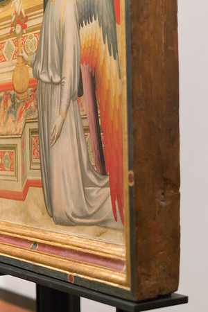 Maestà (The Ognissanti Madonna) - frame edge