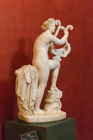 Nude woman with lye