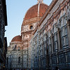 Florence Duomo side on in the late afternoon
