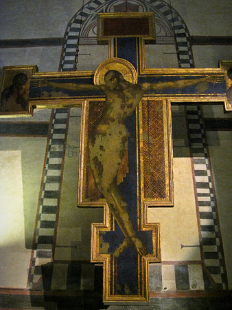 Crucifix by Cimabue