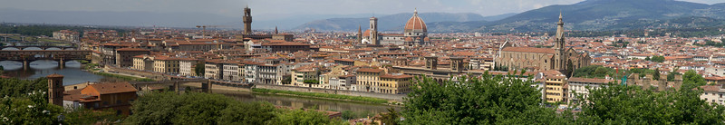 a second panorama of Florence!