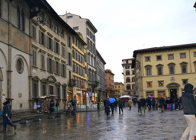 City center of Florence