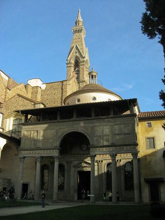 Pazzi Chapel and Museo di Santa Croce