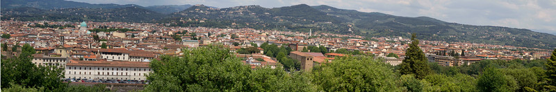 Third panorama of Florence...this one is just a tad bit crooked...oh-well.