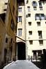 Courtyard and building facade Florence