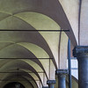 Basilica di San Lorenzo cloisters pillars