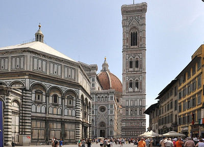 Bell tower of the Florence Cathedral