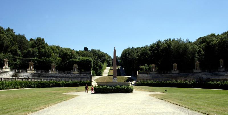 Ampitheatre Boboli Gardens Florence