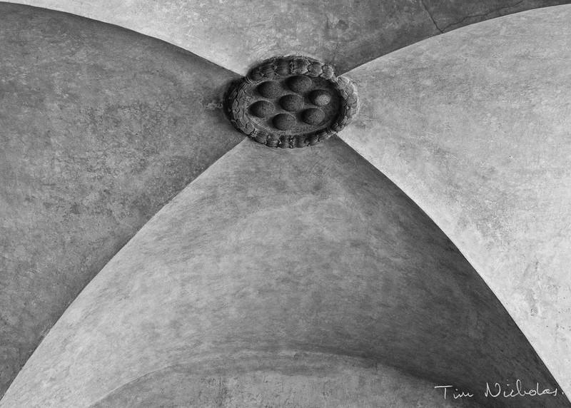 Basilica di San Lorenzo cloisters roof detail