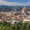 Florence Duomo dominating the skyline