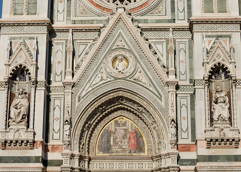 Florence Duomo facade detail