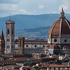 View of Duomo from Piazzale Michelangelo