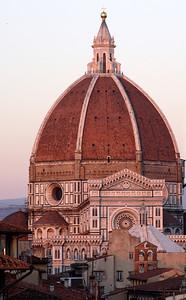 Duomo Florence at dusk