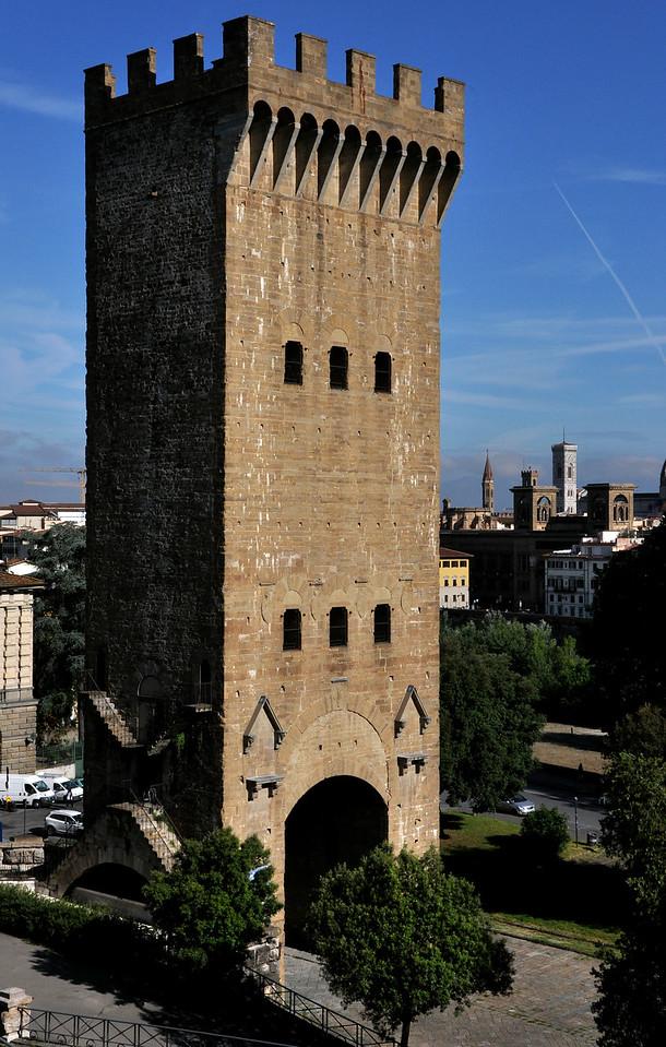 Porta san Niccolo, Florence.