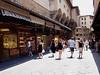 Jewellery shops on the Ponte Vecchio bridge Florence