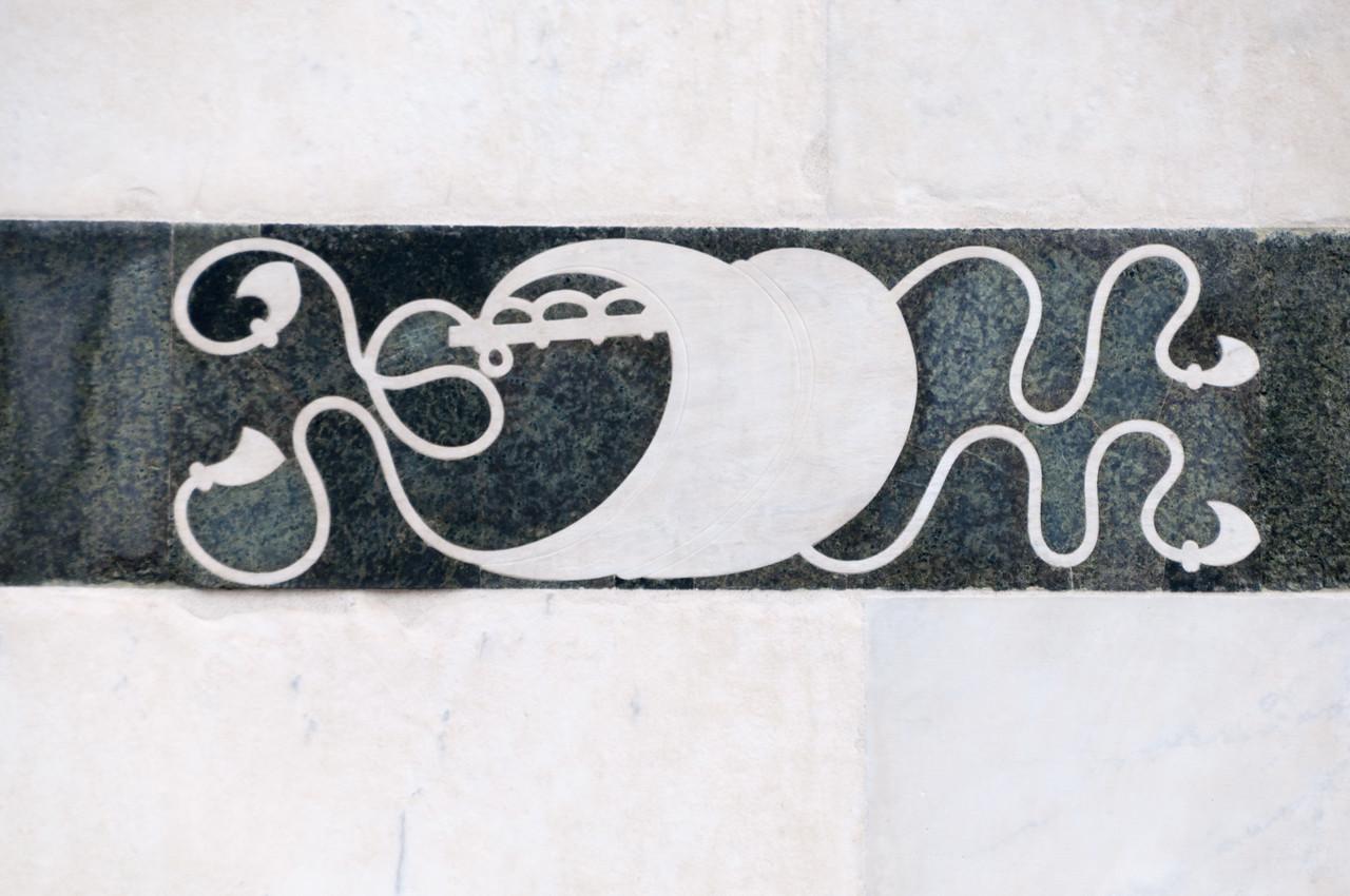 Detail from Santa Maria Novella, Florence, Italy
