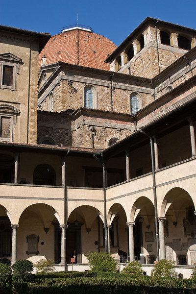 Courtyard in the Church of San Lorenzo