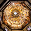 Florence Duomo looking up at the dome roof