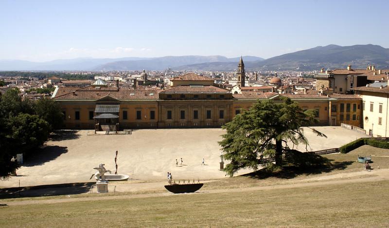 Palazzo Boboli Gardens Florence July 2007
