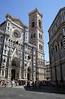 Facade and campanile of the Duomo Florence