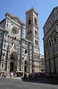 Facade and campanile of the Duomo Florence