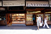 Jewellery shops on the Ponte Vecchio Bridge Florence July 2007