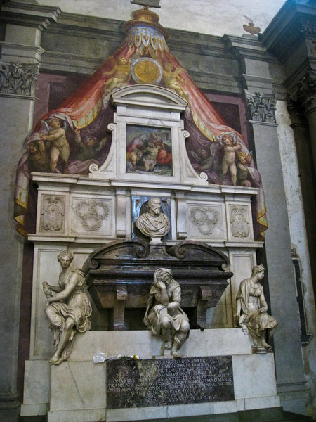 Michaelangelo's Tomb by Vasari