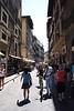 Street near Piazza di San Lorenzo Florence