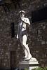 Statue of David replica at the Piazza Della Signoria Florence