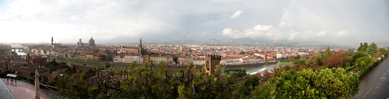 Panorama of Florence.
