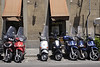 Motorcycles in Florence