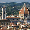 Florence Duomo towering above the city