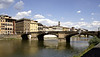 Ponte Santa Trinita bridge Florence July 2007